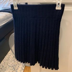 Brandy Melville wool pleated skirt one size
